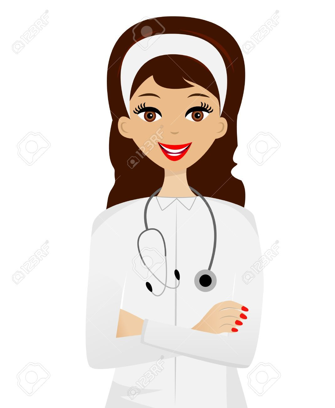 Clipart doctor lady doctor. Woman google search dream