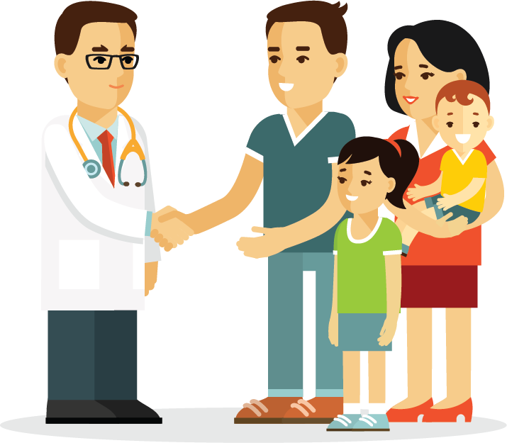 Family practice mydrnow for. Doctor clipart treatment