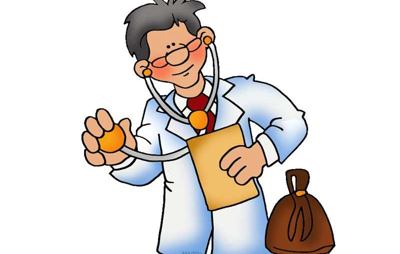 Forget about the rank. Doctor clipart pocket