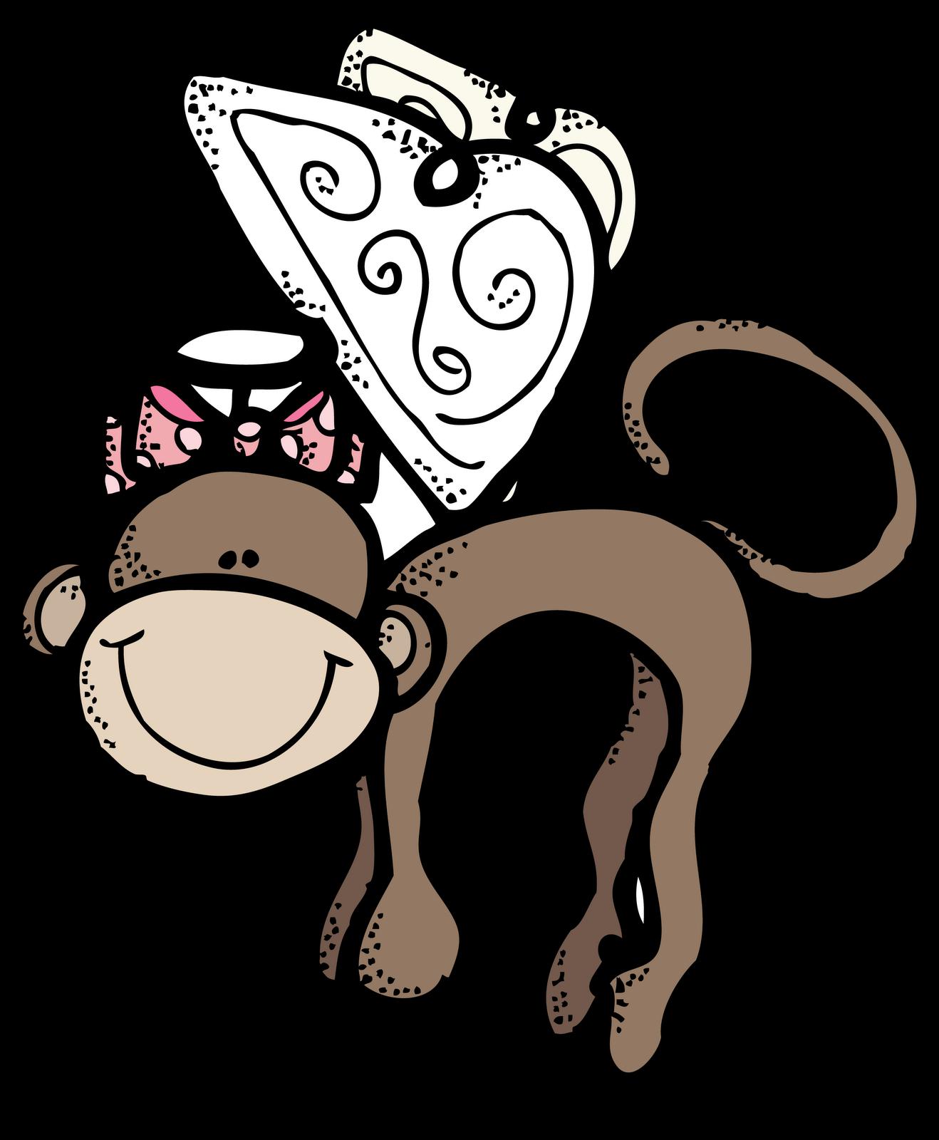Melonheadz clipart monkey. Flying