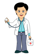 Shot clipart doctor thing. Free medical people cliparts