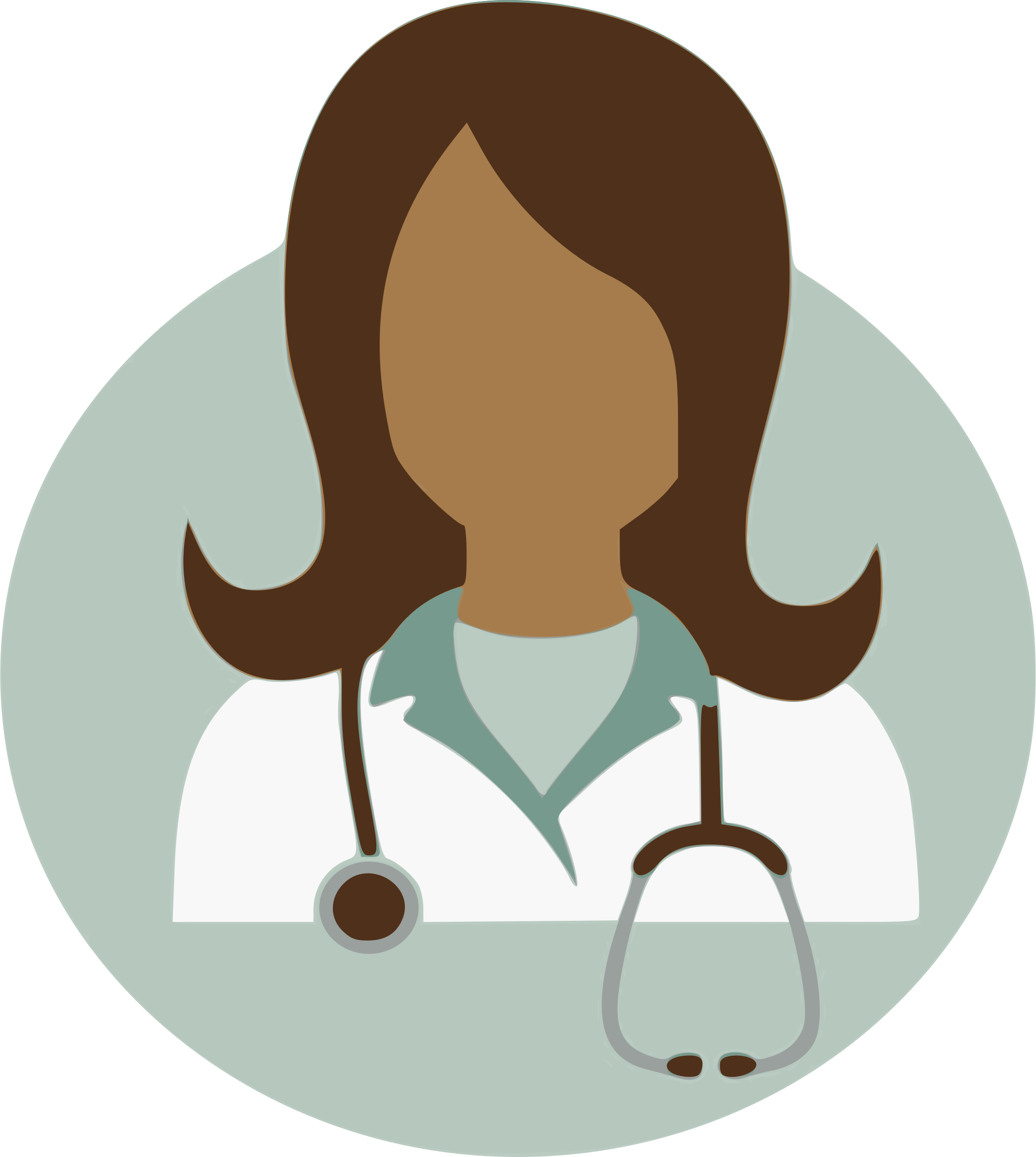 Lady clipart surgeon. Female doctor icons png