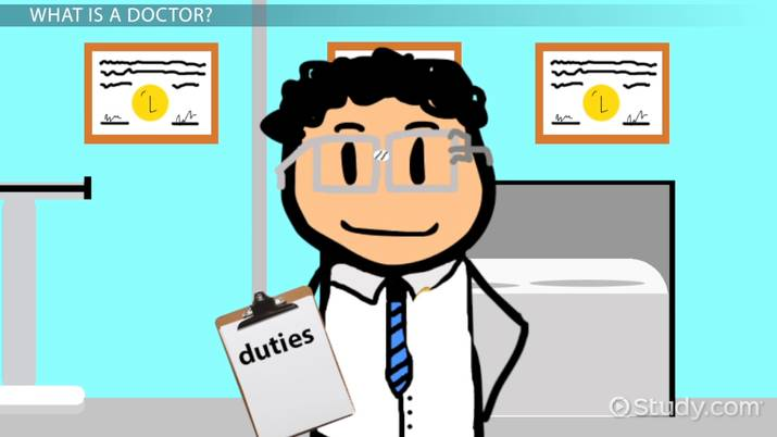 What does a do. Clipart doctor preschool