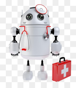 Medical png and transparent. Doctor clipart robot