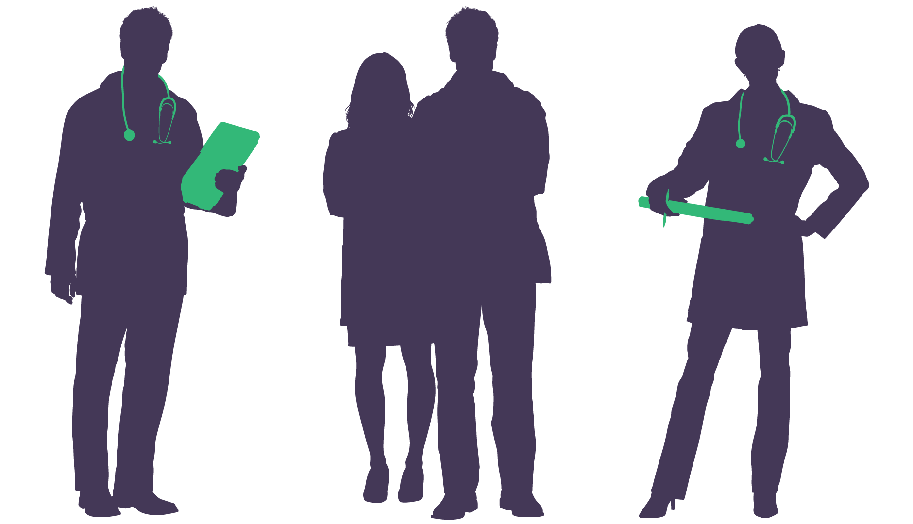 Professional clipart medical professional. Physician silhouette at getdrawings