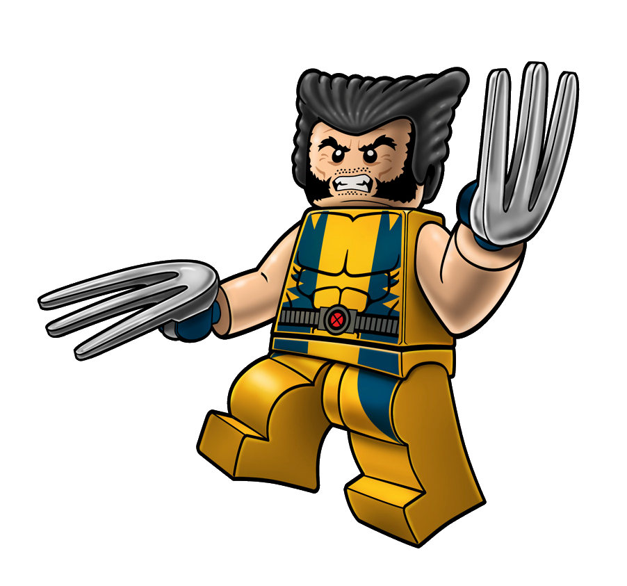 Leader clipart superhero. Wolverine lego marvel and