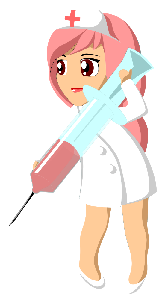 Syringe clipart item. Onlinelabels clip art nurse