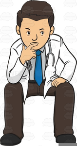 Clipart doctor thinking. Free images at clker