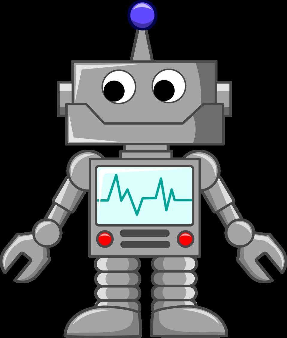 Doctor clipart robot. Public domain clip art