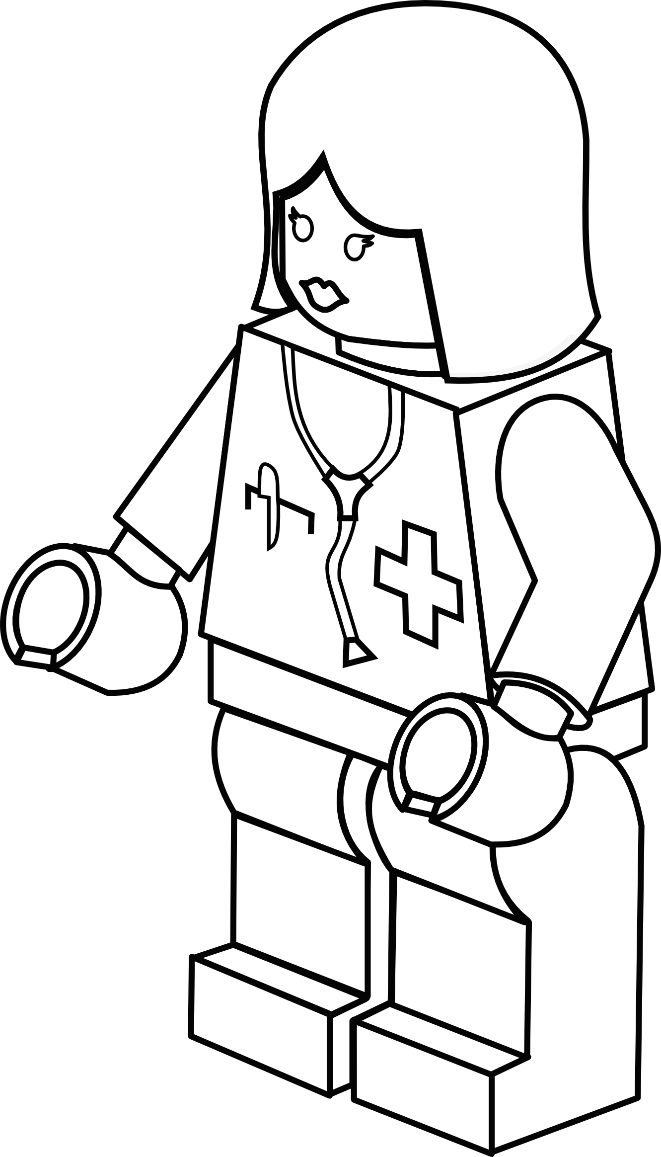 Nurse clipart black and white. Doctor panda free images