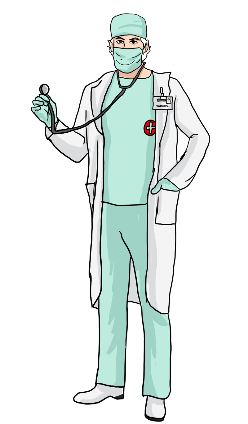 collection of high. Doctor clipart uniform