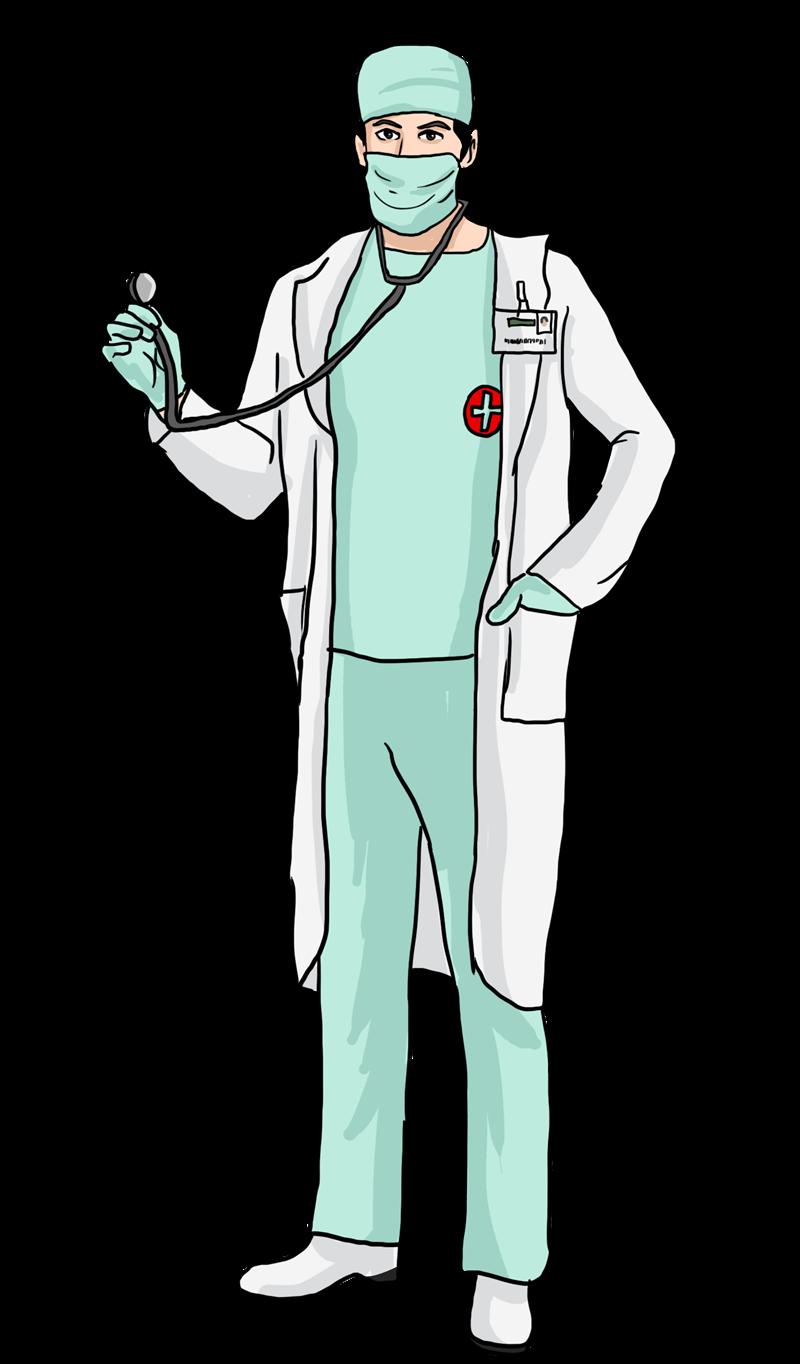 doctor clipart uniform