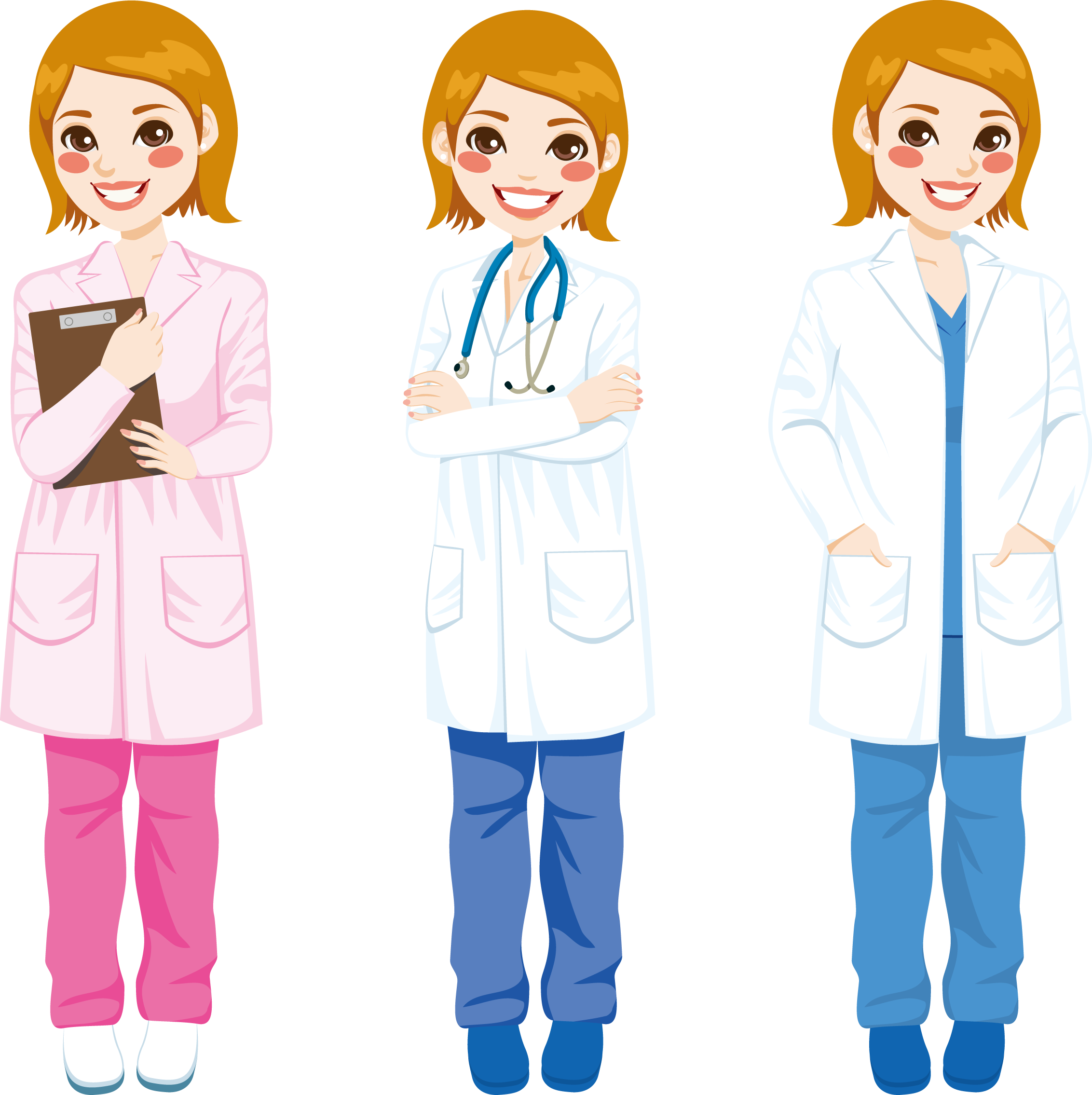 Physician royalty free stock. Doctors clipart white coat