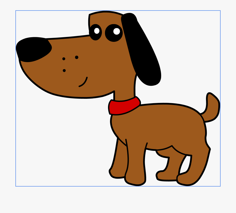 Cute puppy dog library. Clipart dogs art