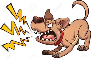 Dogs free images at. Clipart dog angry