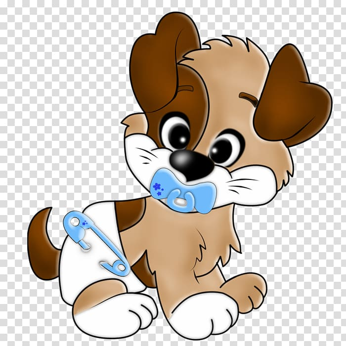 Puppy cartoon drawing transparent. Pet clipart baby dog