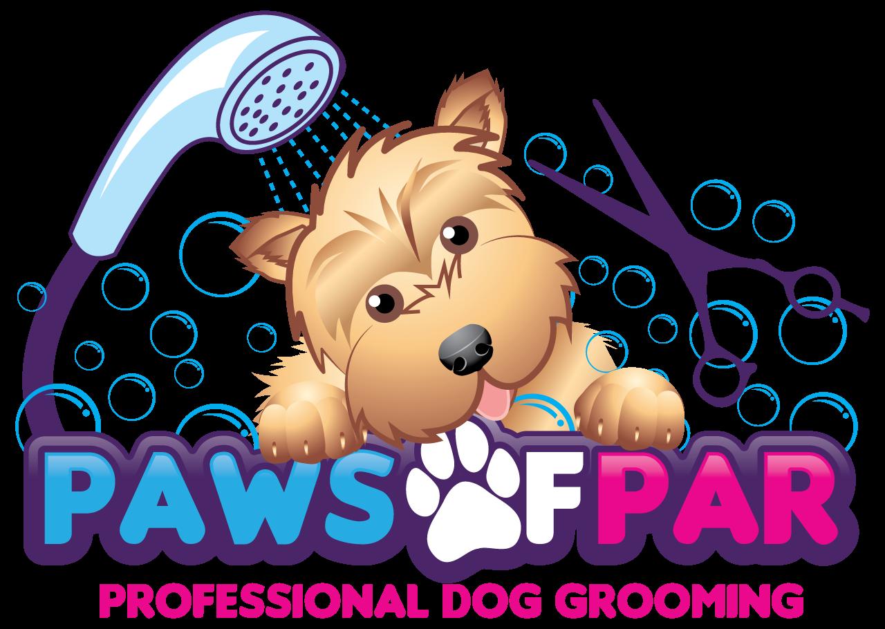 Pet clipart logo. Paws of par professional