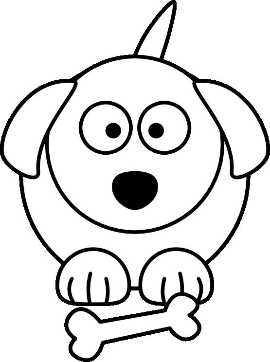 Clipartist net clip art. Clipart dog black and white