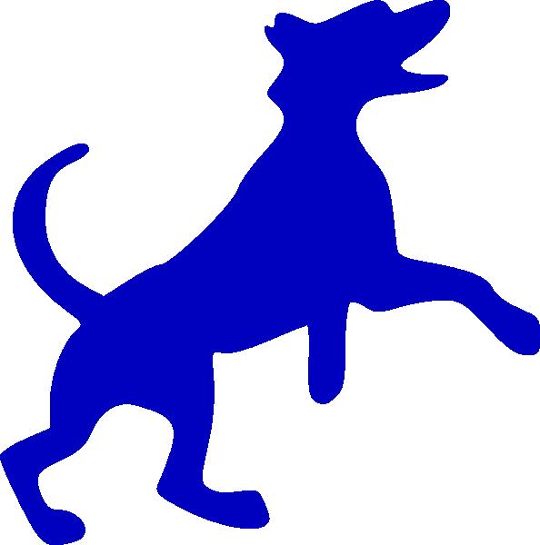 Blue . Pet clipart 5 dog