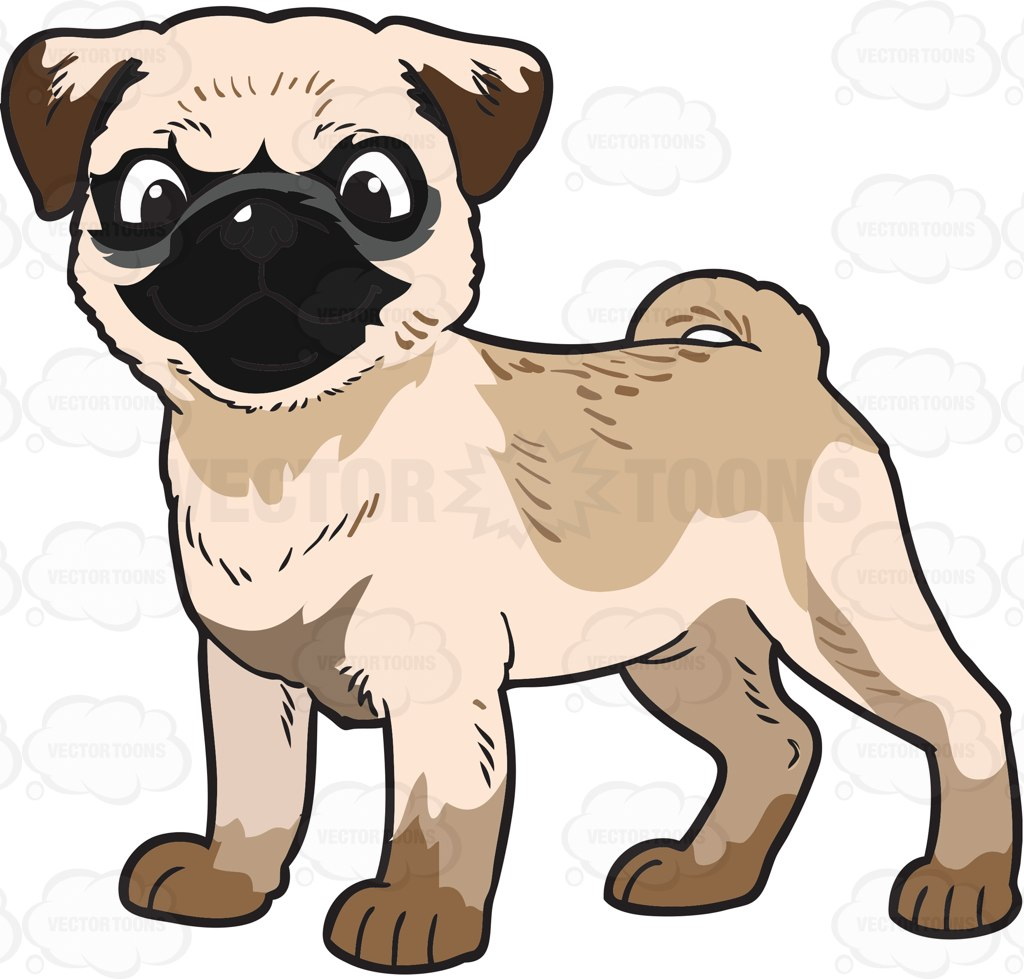 Clipart dogs body. Pug free download best
