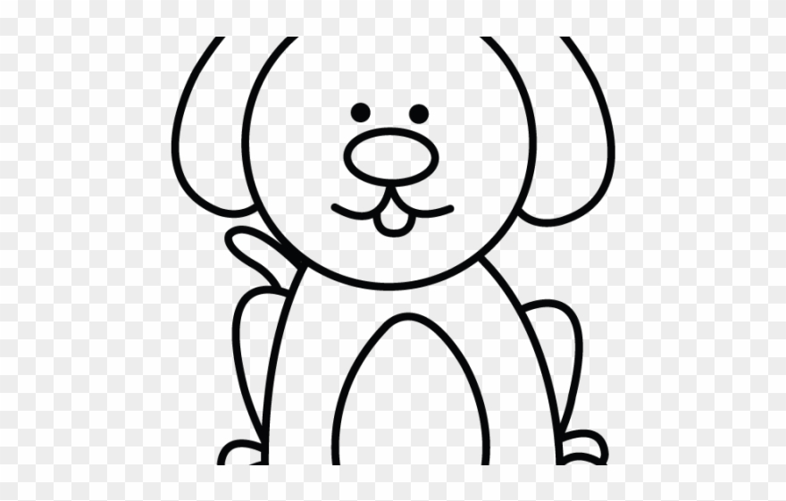 Drawn pitbull body easy. Husky clipart simple drawing