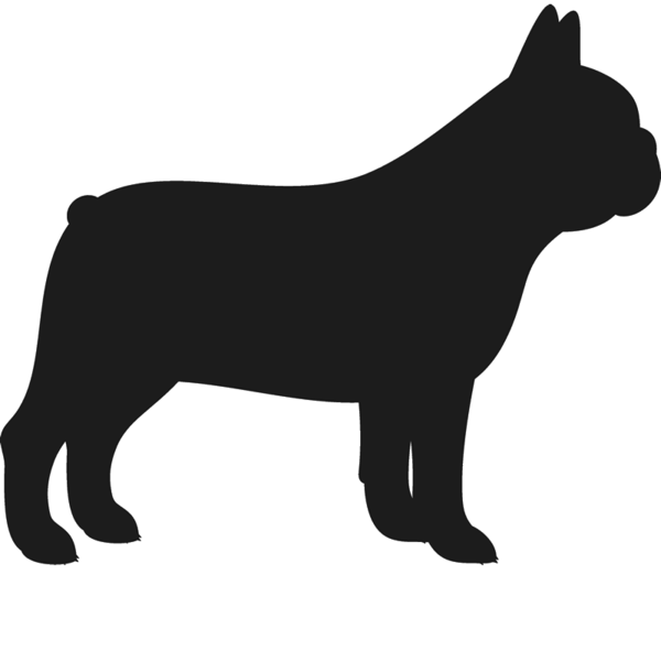 Bulldog silhouette at getdrawings. Pitbull clipart spotted dog