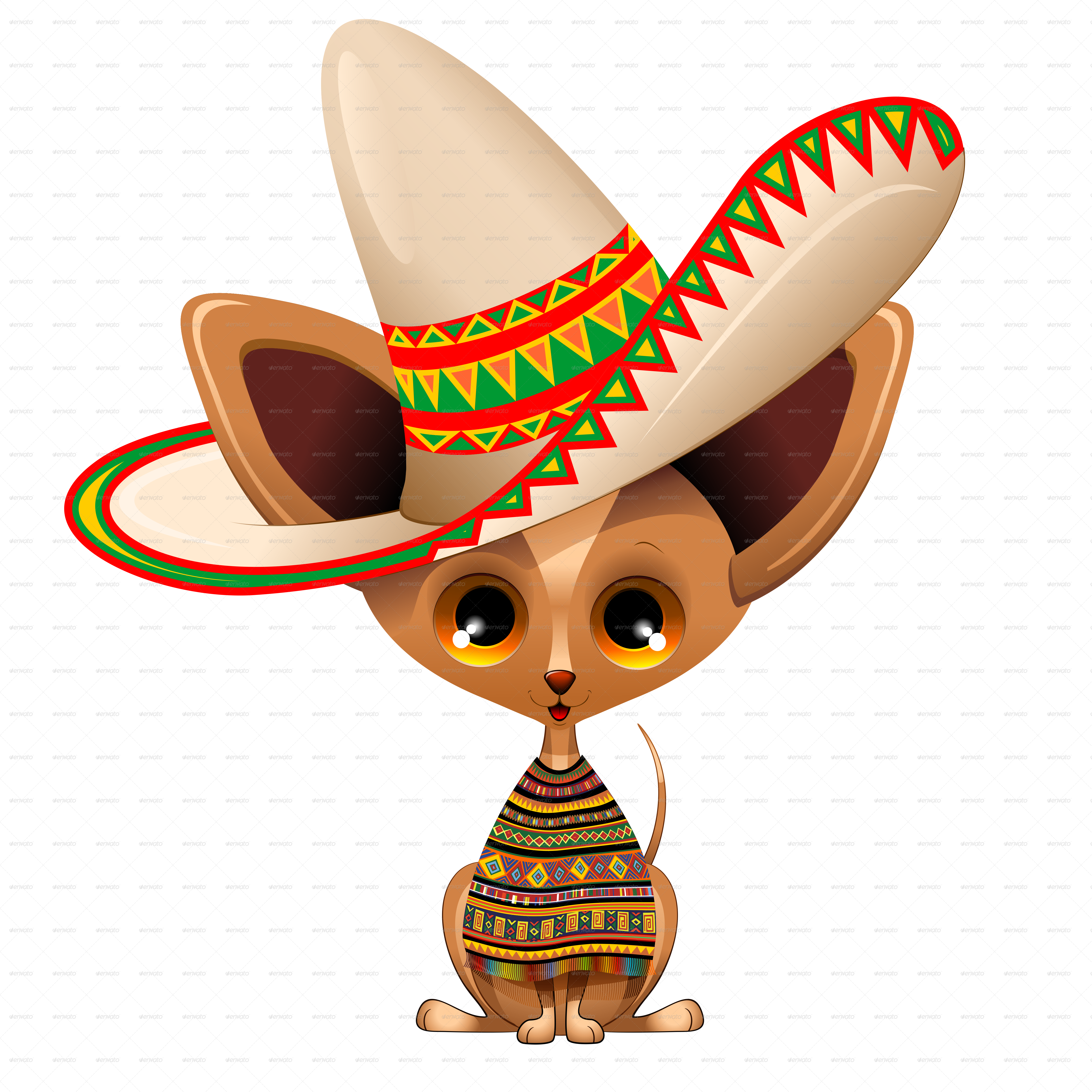 Puppy dog cartoon from. Mexican clipart chihuahua mexican