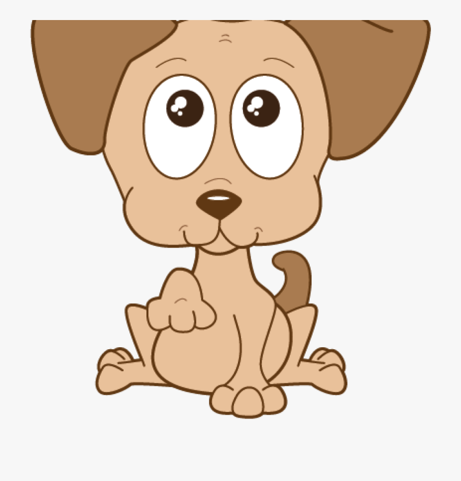 Pet clipart found dog. Cute free transparent background
