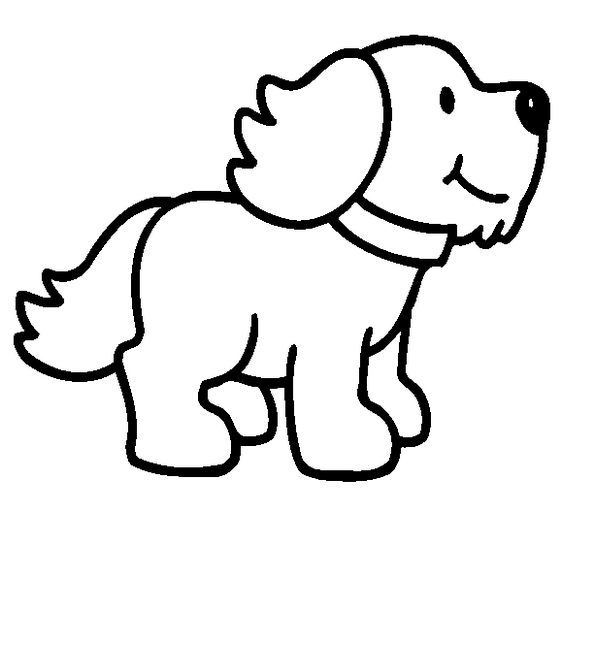 Free cartoon pictures of. Clipart dog colour