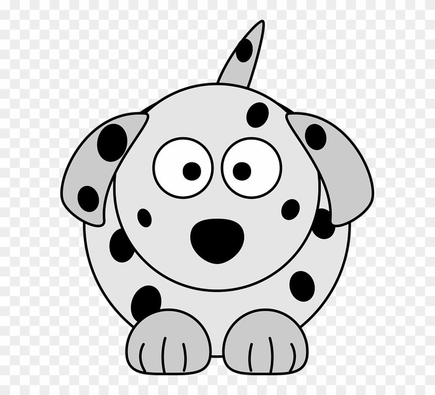 Clipart dog colour. Cartoon images of dalmatians
