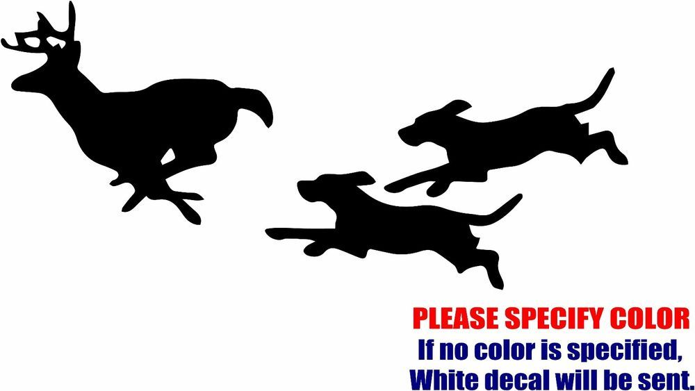 Dog chasing . Clipart dogs deer