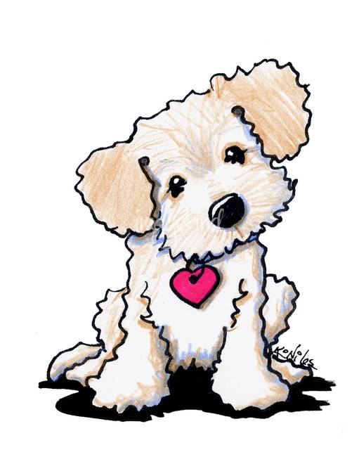 Free labradoodle cliparts download. Dog clipart doodle