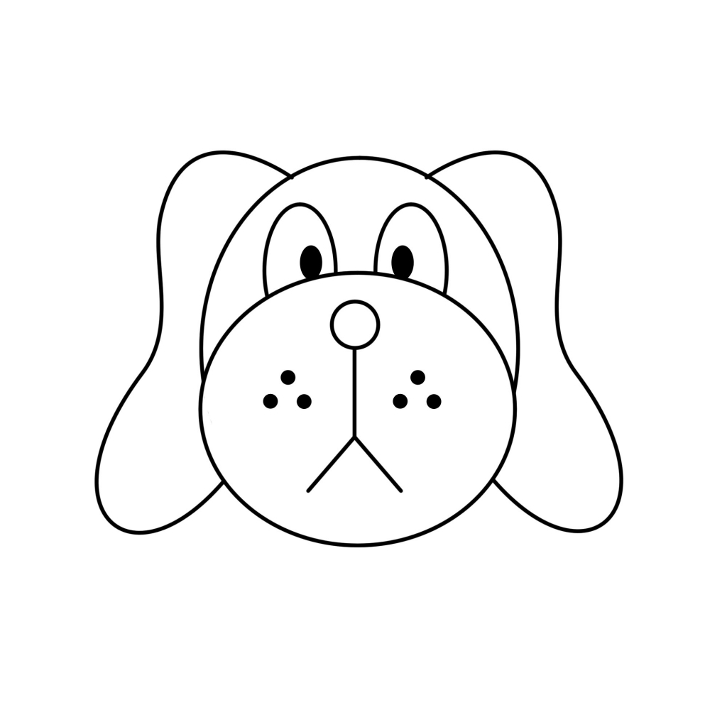 Dogs clipart easy. Free puppy cliparts download