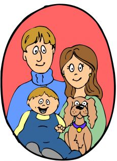 Dog clipart family. Free cliparts download clip