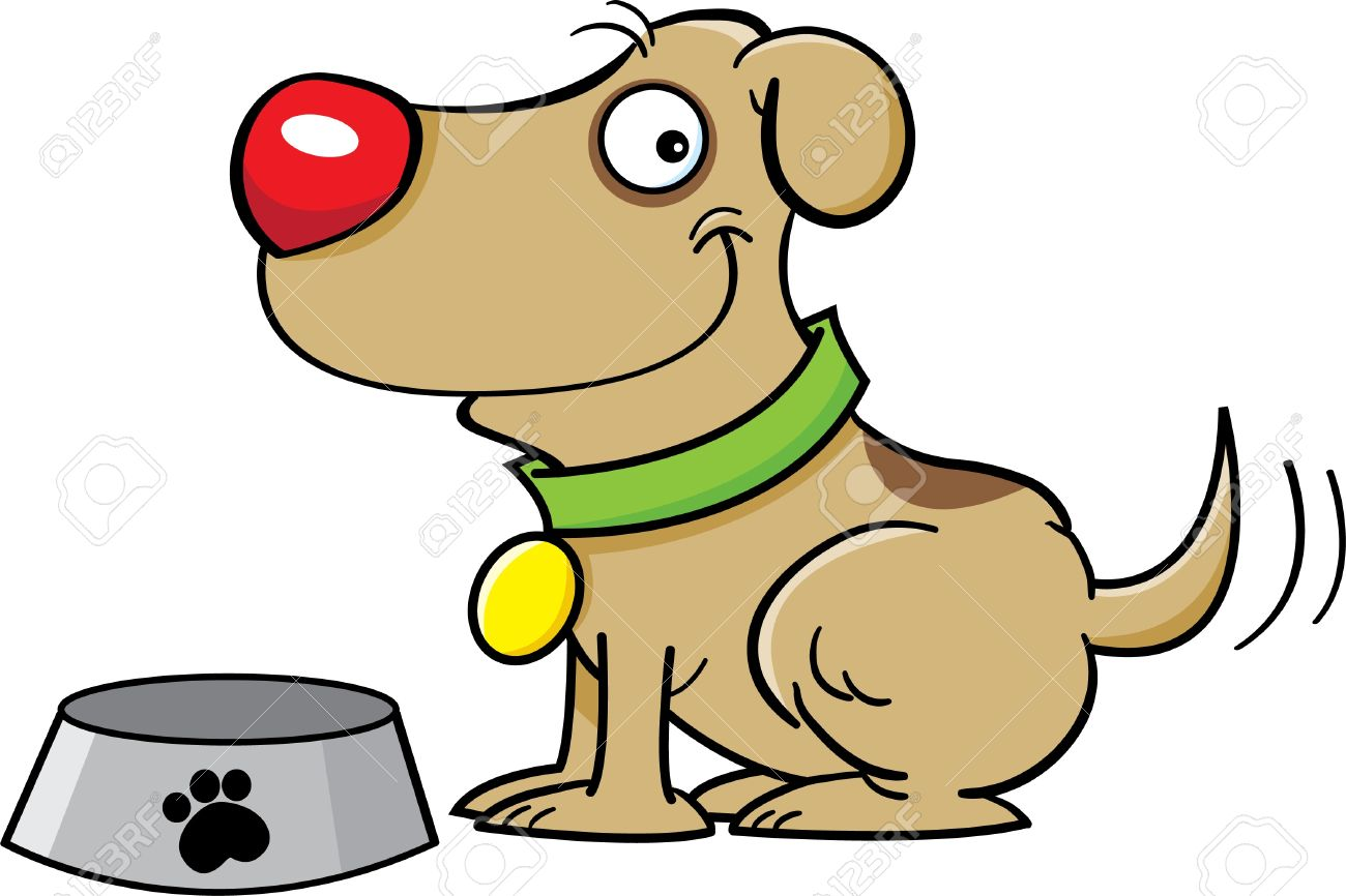 The station . Dog clipart feed