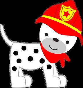 Firefighter clipart dog. Bombeiros e pol cia