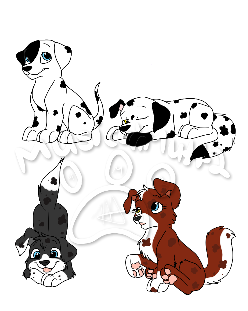 All patched up marshallxrosie. Mother clipart pup