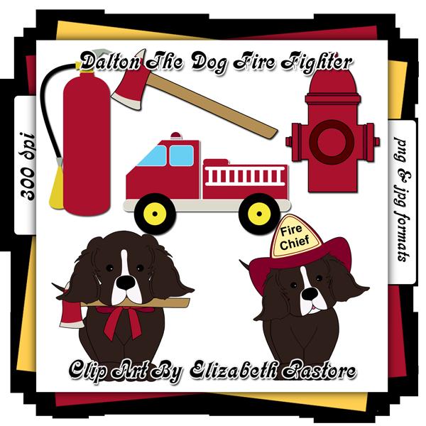 Dog clip art consist. Clipart puppy firefighter