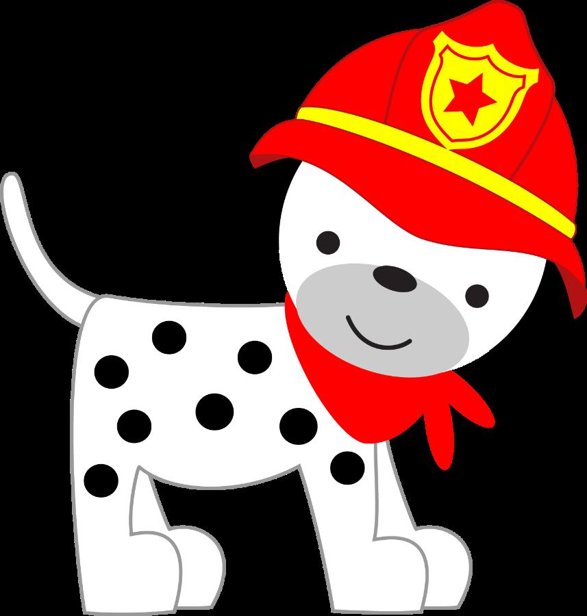Clipart puppy firefighter. Bombeiros e pol cia