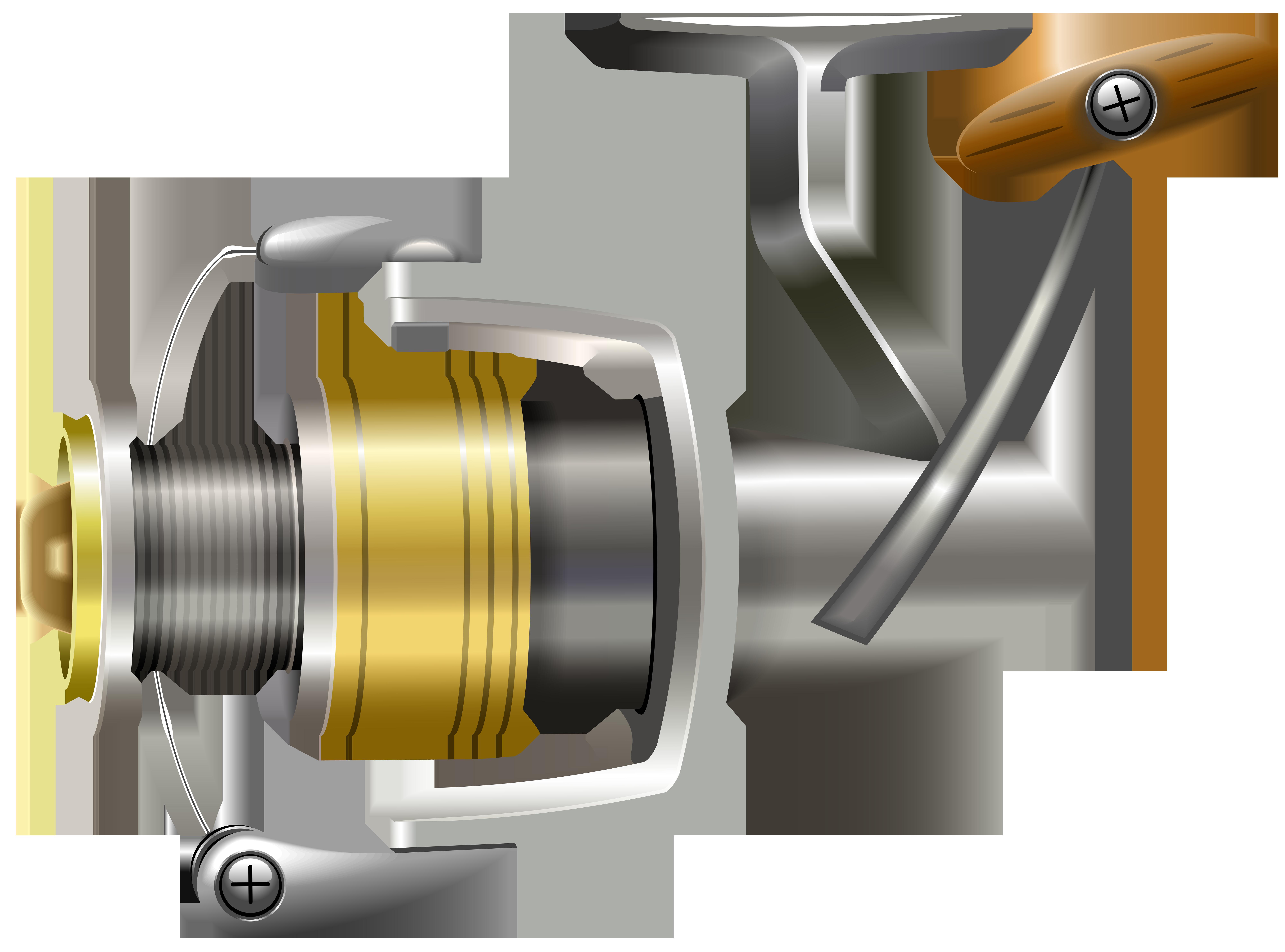 Fishing clipart money. Reel png clip art