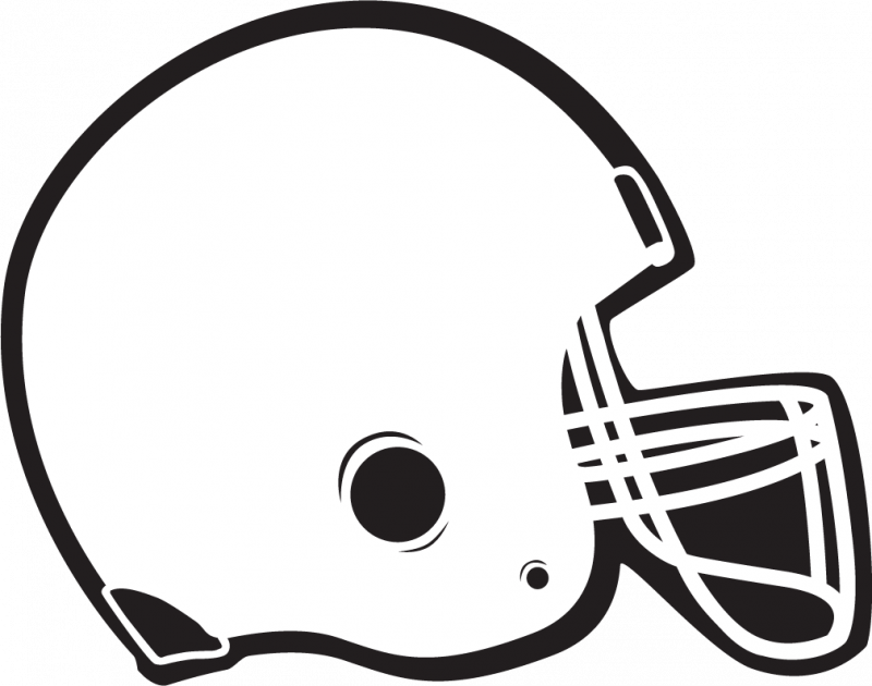 Wolf clipart football. Black and white clip