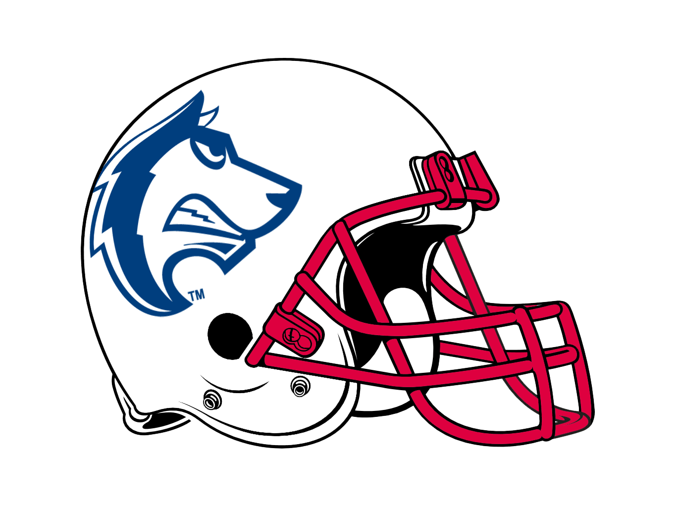 Easy helmet drawing at. Clipart football linemen