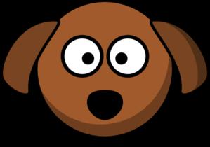 Dog cartoon clip art. Dogs clipart head