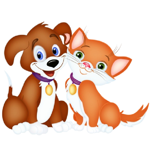 Pet clipart hug dog. Cat cartoon and pictures