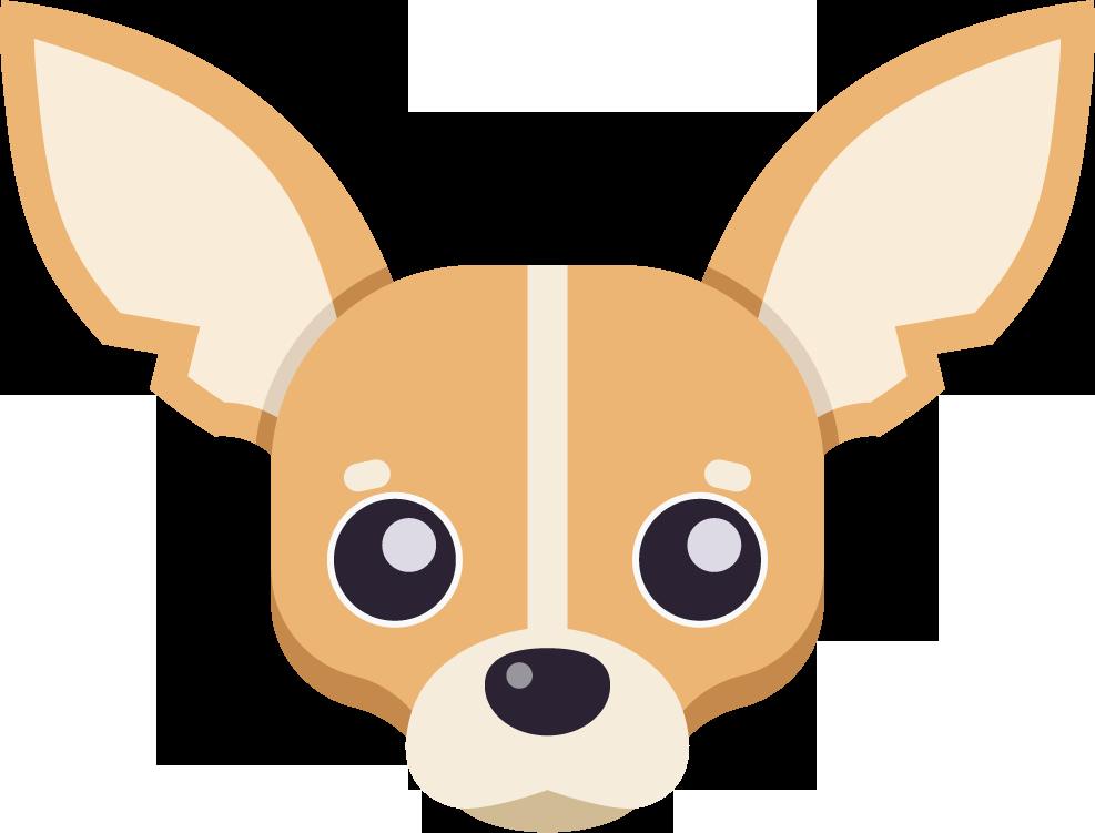 Clipart puppy ear. Dog ears long avatar