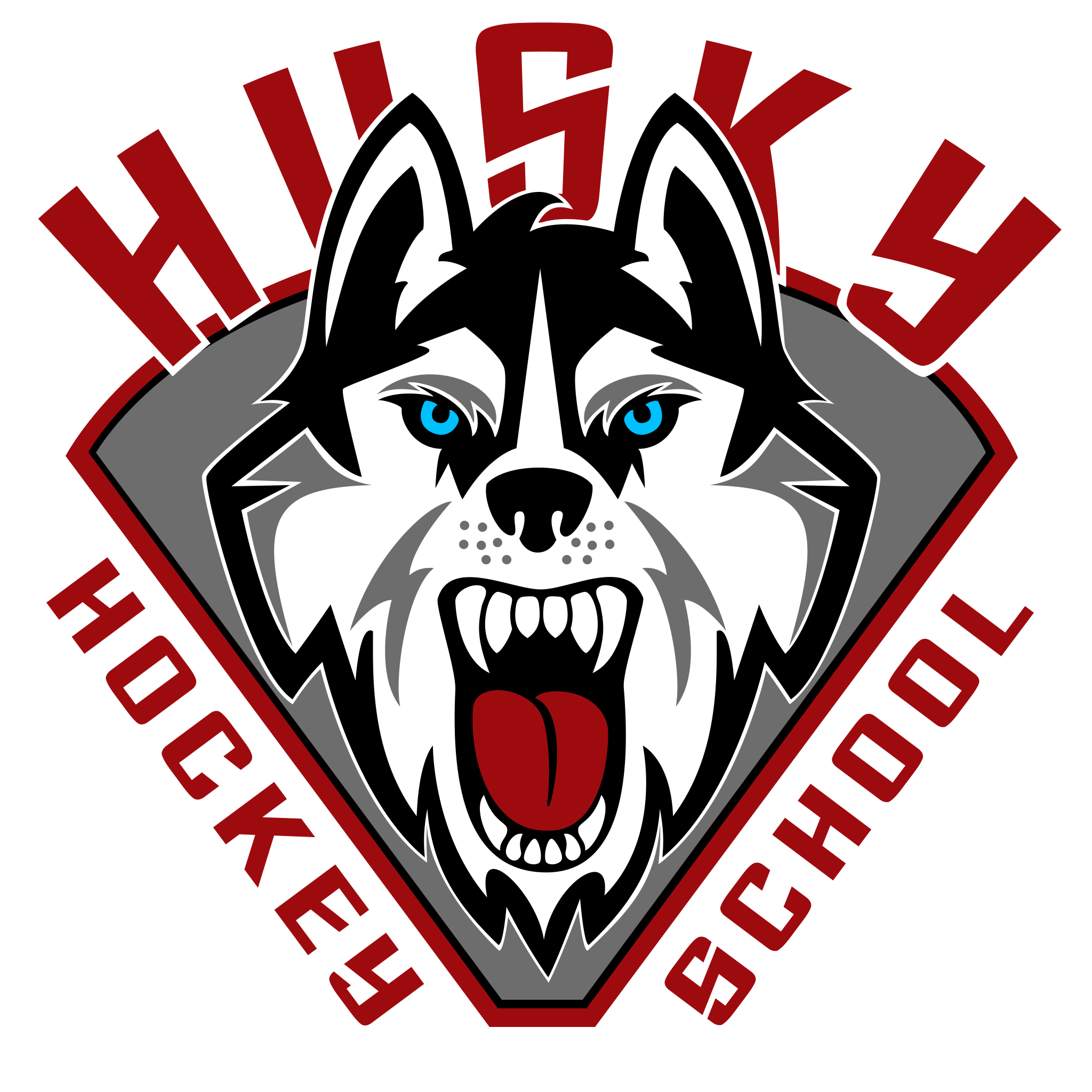 Home cunningham hockey training. Husky clipart huskey