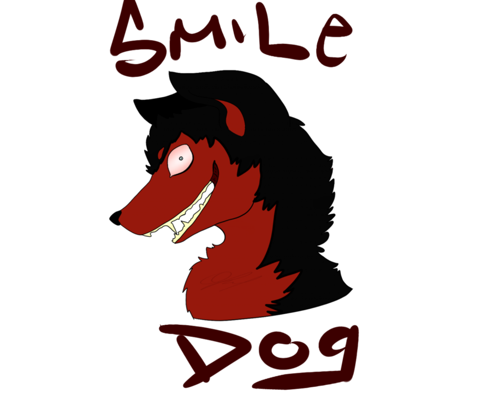 Smile exe by obsessivepup. Clipart dog logo
