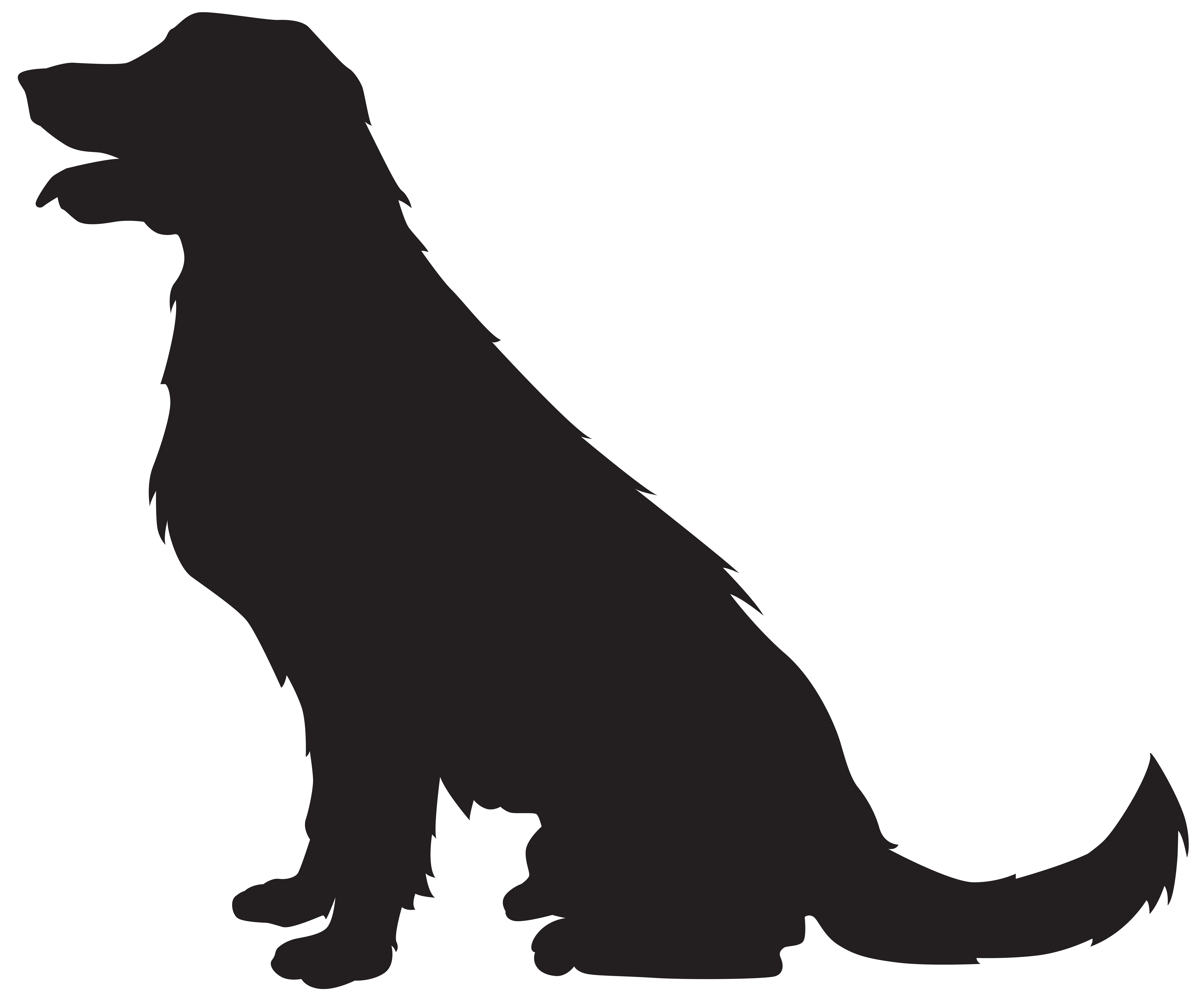 Paw clipart silhouette dog. Pug pencil and in