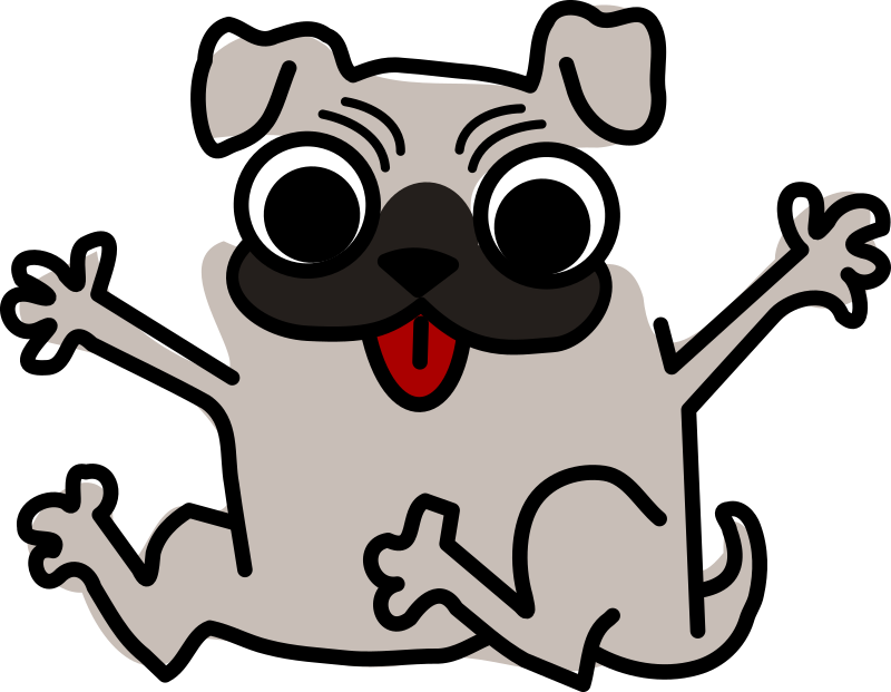 Dog cartoon at getdrawings. Pet clipart alien