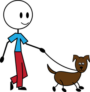 Pet clipart person dog. Free image animal photos